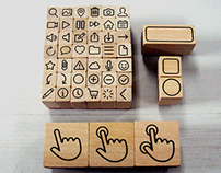 Icon Stamp Set