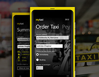 MyTaxi windows Phone applictaion