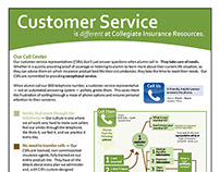 Collegiate Insurance Resources | Marketing Flyers