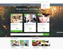 KlubPlus Coupon Web Design