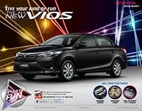 Toyota Vios Start the Fun