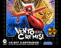Vento Cremisi (SEGA Genesis box art)