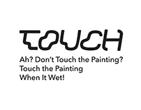 Touch A Painting When It Wet!