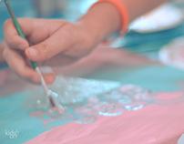 Kids & Art - Cancer sucks art heals