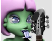 Erostick Aliens / Alienbacker