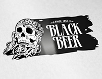 BLACK BEER LOGO TEMPLATE