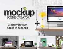 Mockup Scene Creator ~ Desk edition