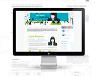 Resume Minisite