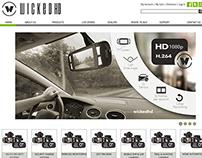 WICKED HD web design