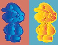 Super Pop Art Mario