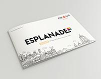 Booklet Design Esplanade One Mall