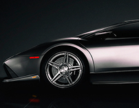 Photoshop Speed Retouching - Lamborghini