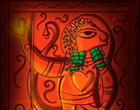 Contemporary Bengal Patua