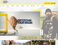 redesign national geographic weblayout