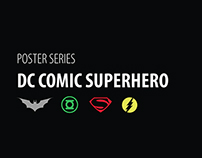DC Comic Superhero Poster Series