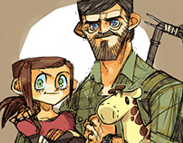 Fanarts of The last of us