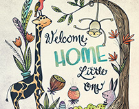 Welcome Home Illustration