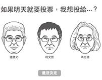 〈市長,安安,政見給窺嗎?〉2014年臺北市長政見小遊戲