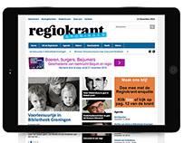 Responsive website Regiokrant