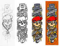 Ihsan KL x Motion Skateboards - 2/3 Hip-Hop Series