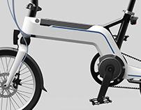 "TranzX works - Folding e-bike 16"""