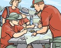 """Boys' Life"" Magazine: Organizing a Canoe Trip"