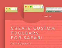 Custom toolbars for Safari