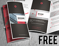 Free Brochure Mock-up