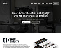 Fourteen – Responsive Landing Page WP Theme