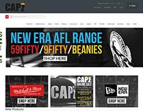 cap-z ecommerce website