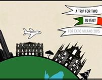 Intesa San Paolo for EXPO2015 APP