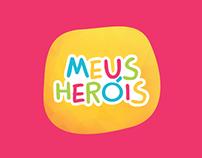 Meus Heróis - Branding