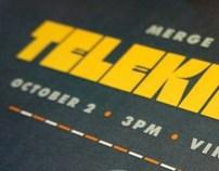 Telekinesis Gig Poster