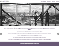 Business Consulting services website