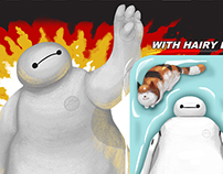 G.I. Baymax with Hairy Baby Action Figure