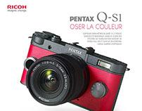 Pentax Q-S1 Advertising