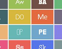 Font Pro: Clean Typeface Bundle
