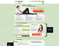 Microsite of bank project