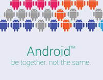 Android be together, not the same (Trees edition)