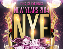 NYE Poster for Pink Ice