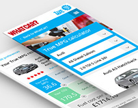 Whatcar? TrueMPG website design