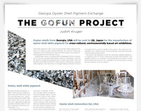 Gofun Project Poster for Artist Judith Kruger