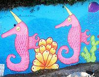 Mural Océano Mágico