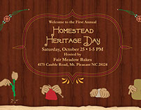 Homestead Heritage Day Website (Web Design)
