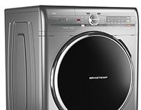 Brastemp Ative! Washer & Dryer Machine
