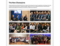 Annual Meeting of the New Champions - WEF
