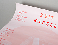 Zeitkapsel exhibition poster