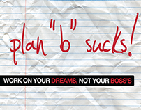 "Plan ""B"" Sucks! | Creative Direction"