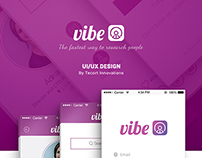 Vibe IOS app UI Design | Tecort Innovations