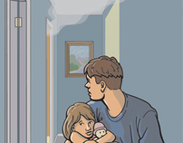 "Emergency Preparedness Illustrations for ""Boys' Life"""